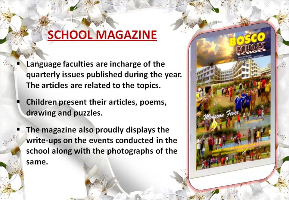 topics to write about for school magazine
